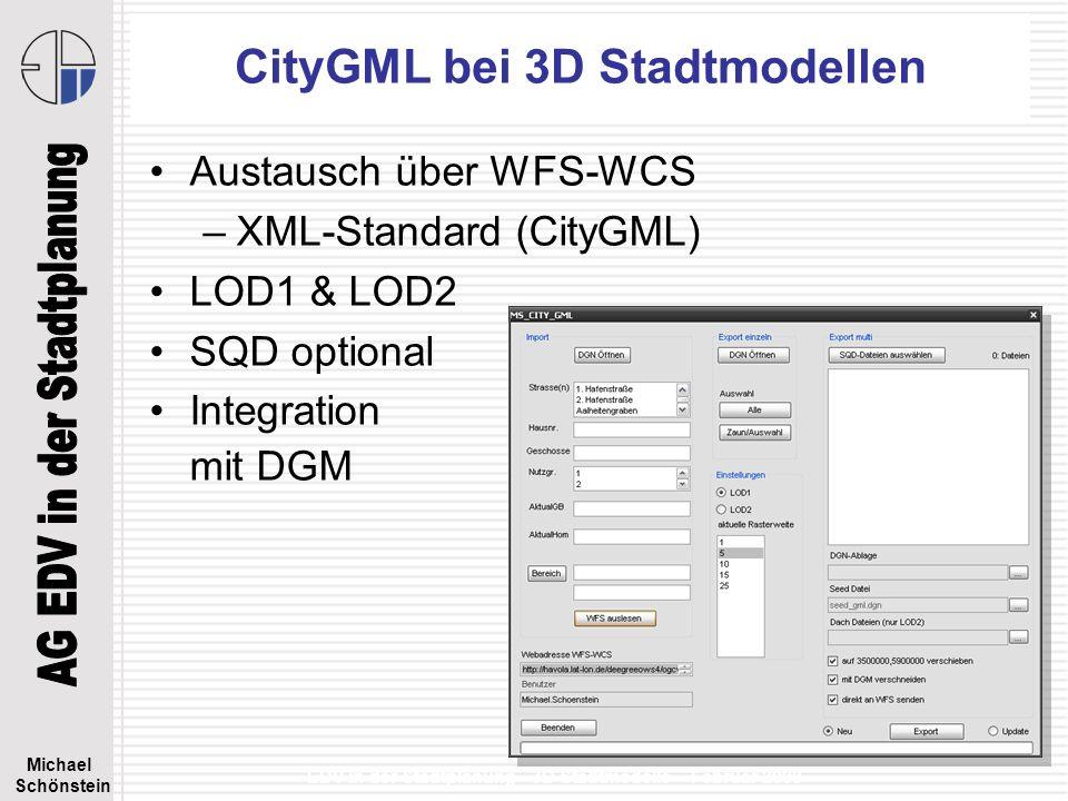 CityGML bei 3D Stadtmodellen