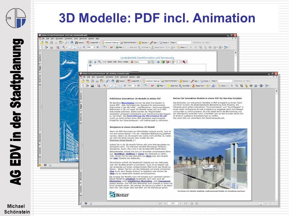 3D Modelle: PDF incl. Animation