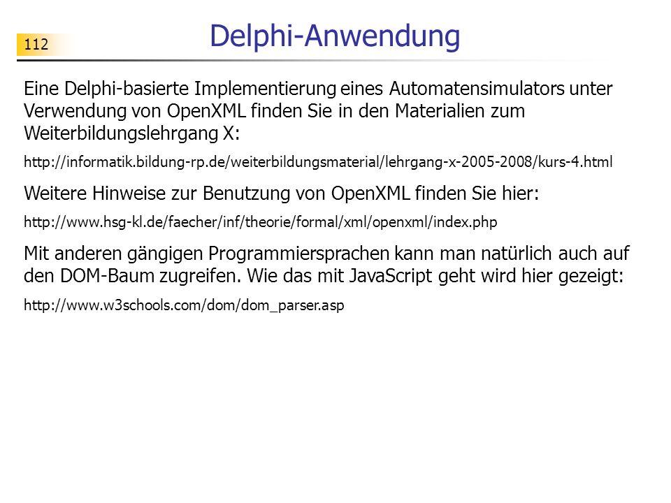 Delphi-Anwendung