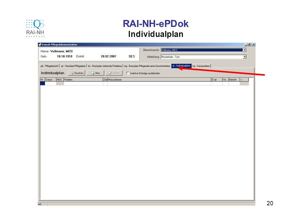 RAI-NH-ePDok Individualplan