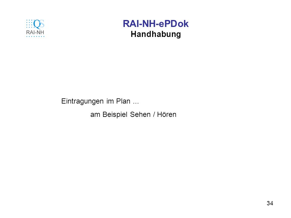 RAI-NH-ePDok Handhabung