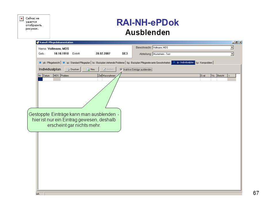RAI-NH-ePDok Ausblenden