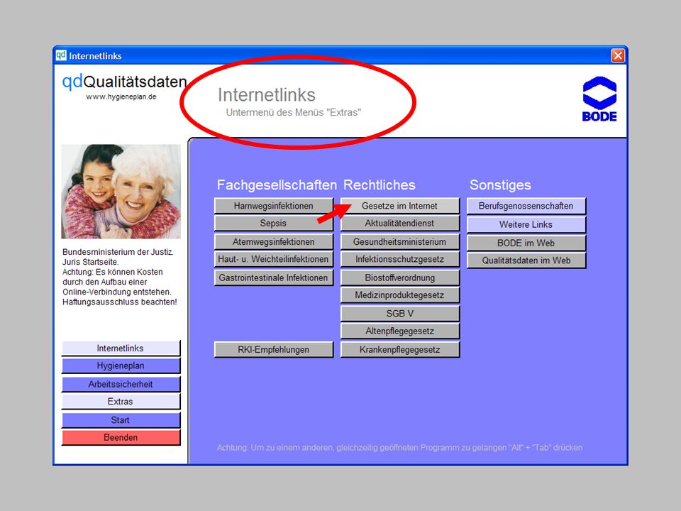Einführung in die CD-ROM Senio-QM forte
