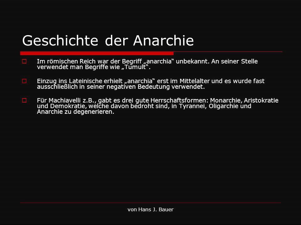 Geschichte der Anarchie