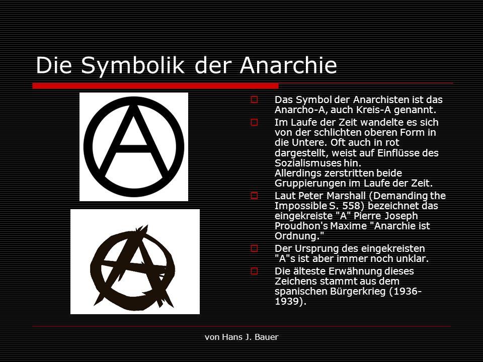 Die Symbolik der Anarchie