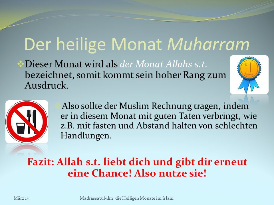 Der heilige Monat Muharram