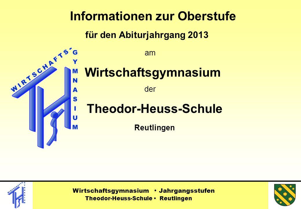 Informationen zur Oberstufe