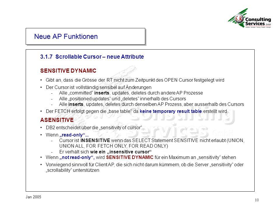 Neue AP Funktionen 3. Neue AP Funktionen