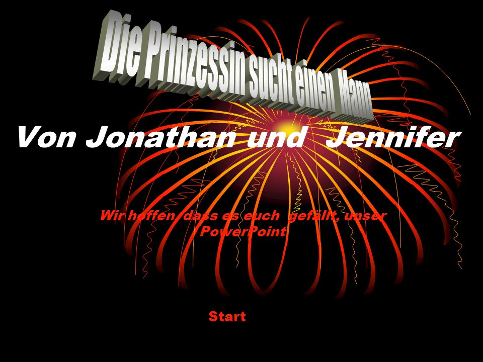 Von Jonathan und Jennifer