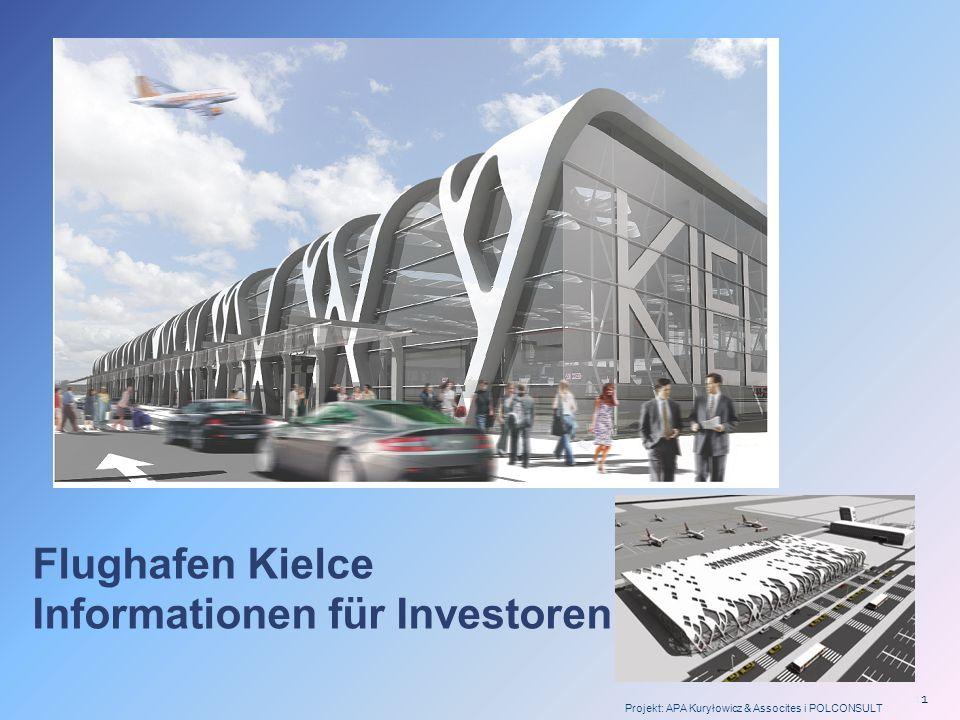 Flughafen Kielce Informationen für Investoren
