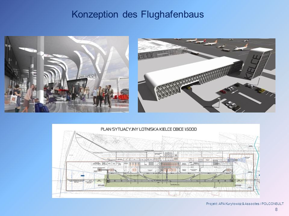 Konzeption des Flughafenbaus