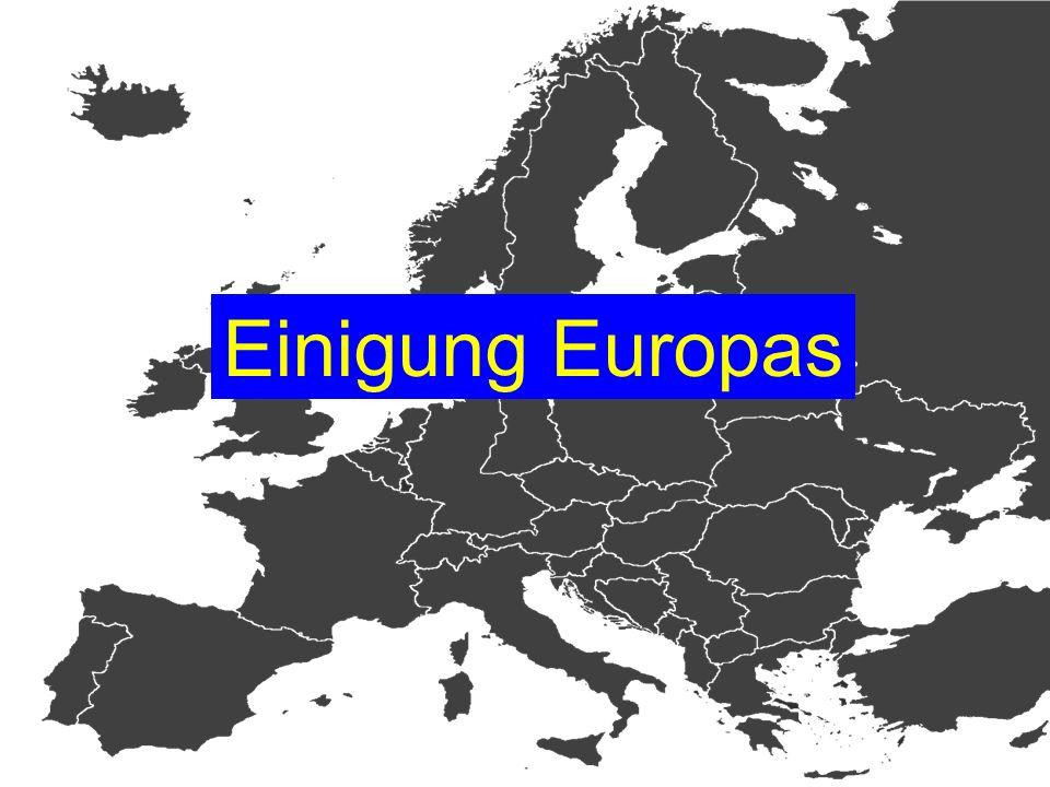 Einigung Europas