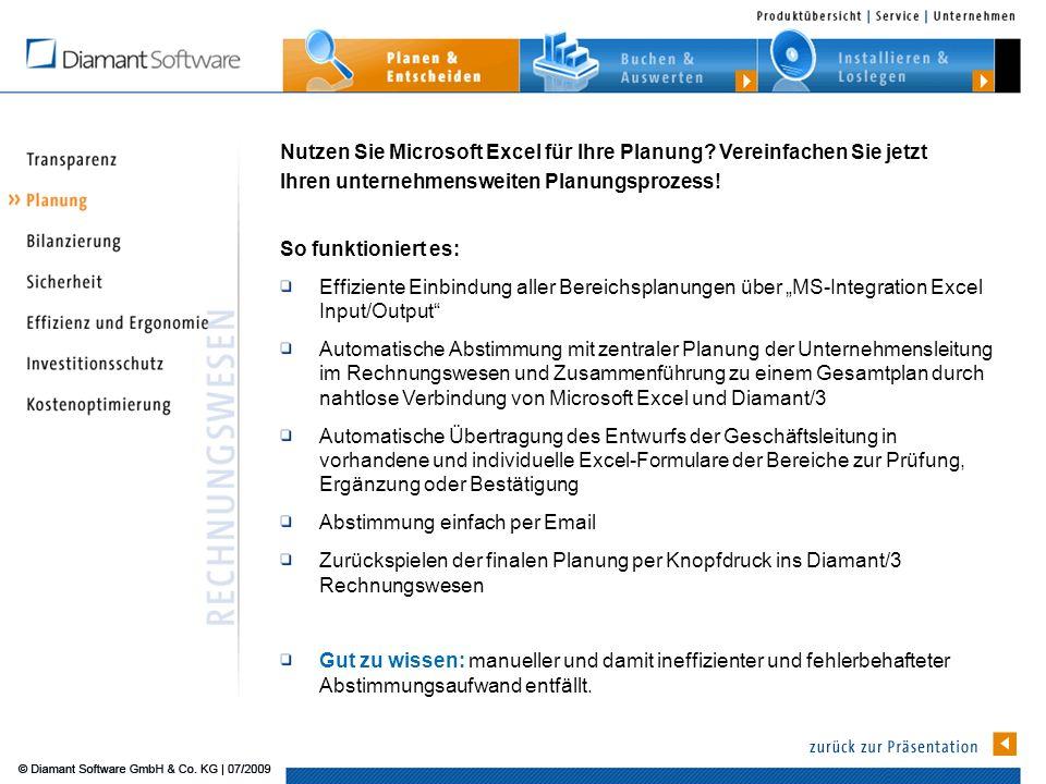 Nutzen Sie Microsoft Excel für Ihre Planung Vereinfachen Sie jetzt