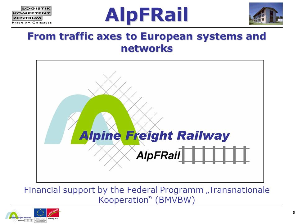 AlpFRail From traffic axes to European systems and networks