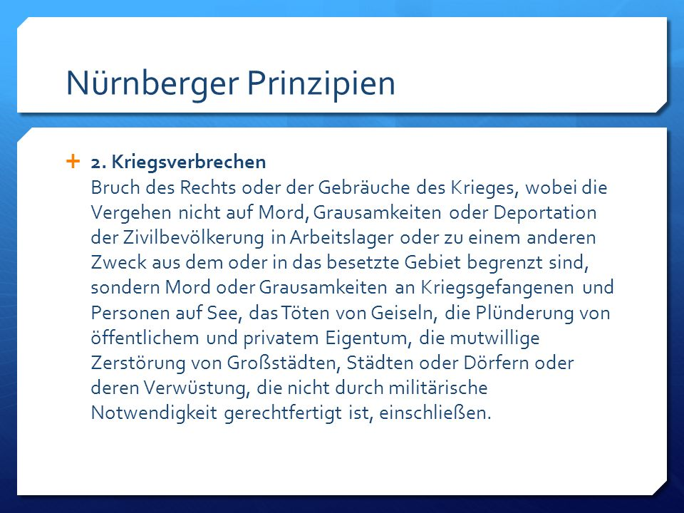 Nürnberger Prinzipien
