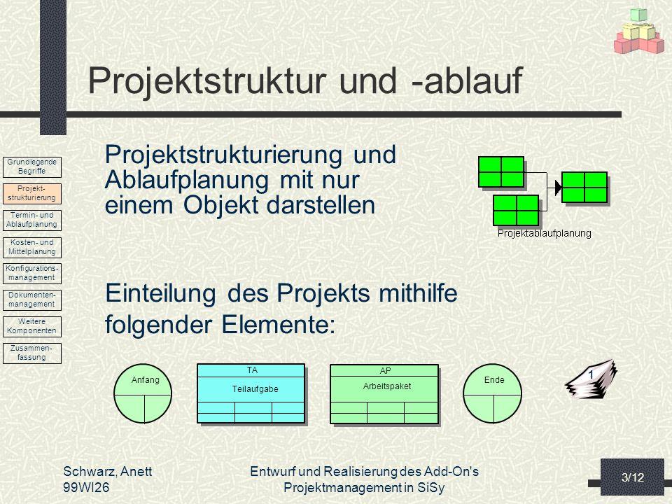 Projektstruktur und -ablauf