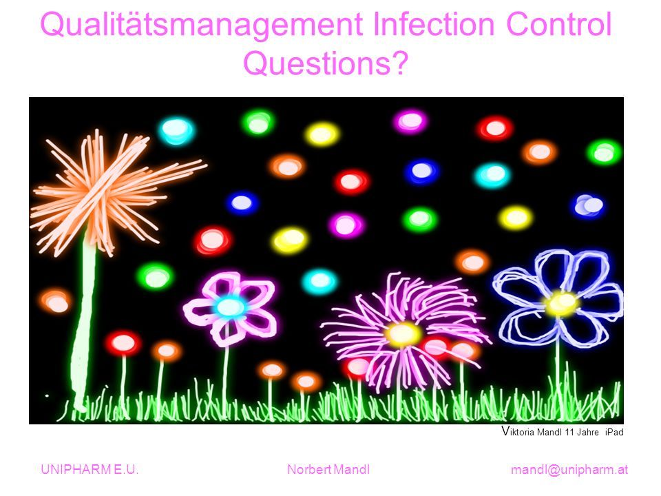 Qualitätsmanagement Infection Control Questions