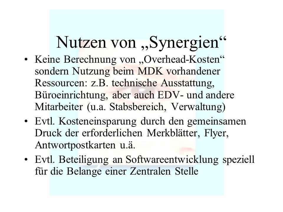 """Nutzen von """"Synergien"""