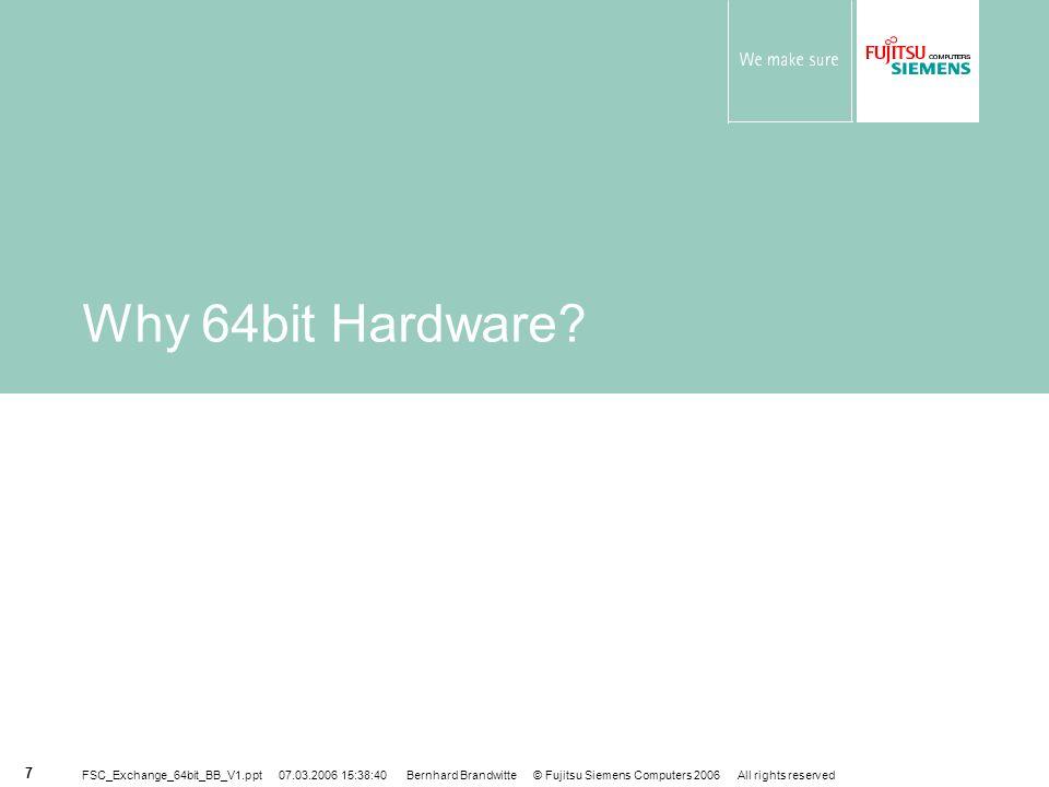 Why 64bit Hardware