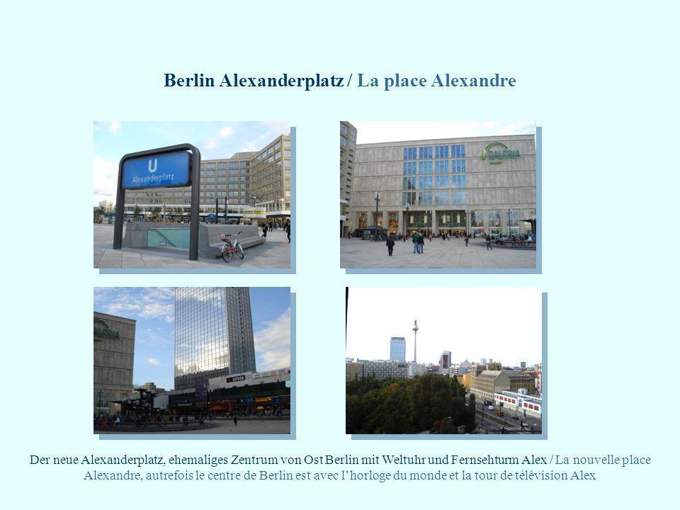 Berlin Alexanderplatz / La place Alexandre