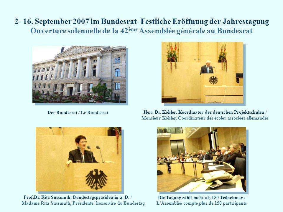 Der Bundesrat / Le Bundesrat