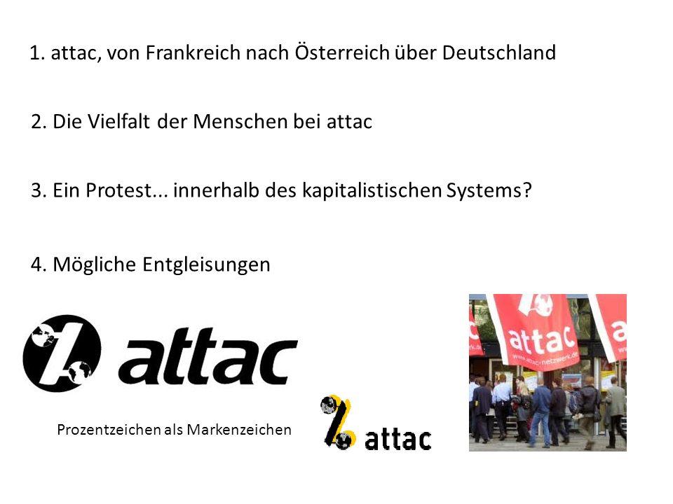 1. attac, von Frankreich nach Österreich über Deutschland