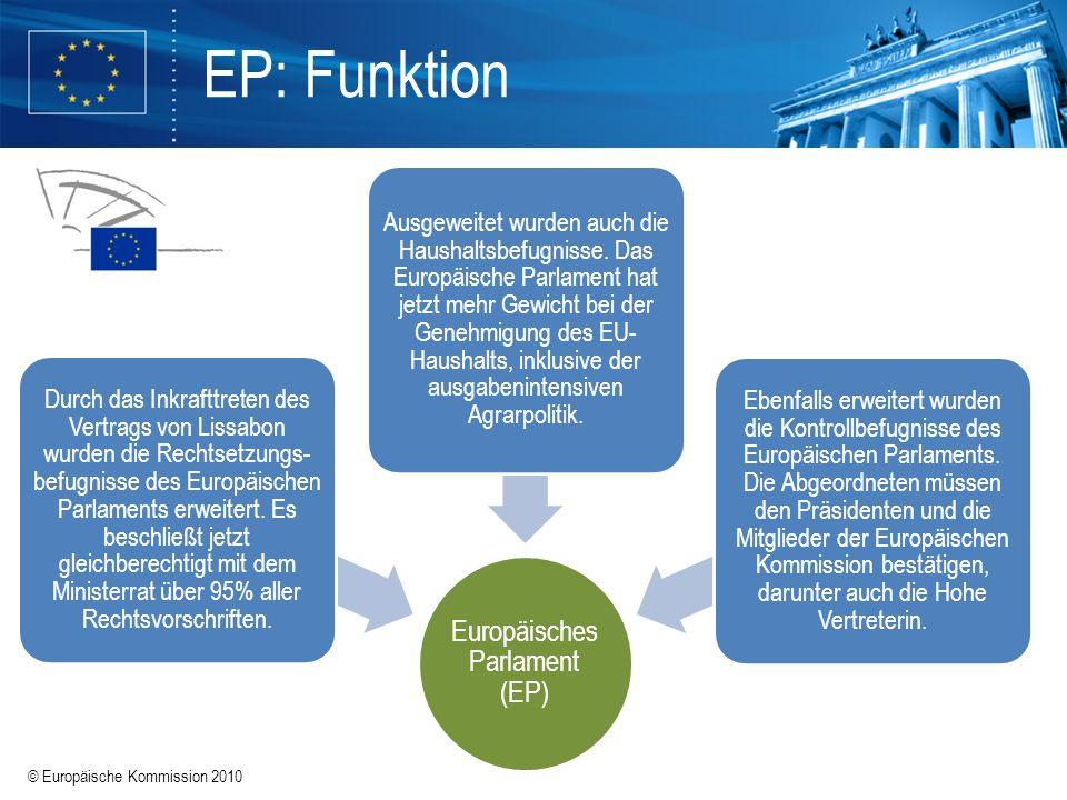 Europäisches Parlament (EP)