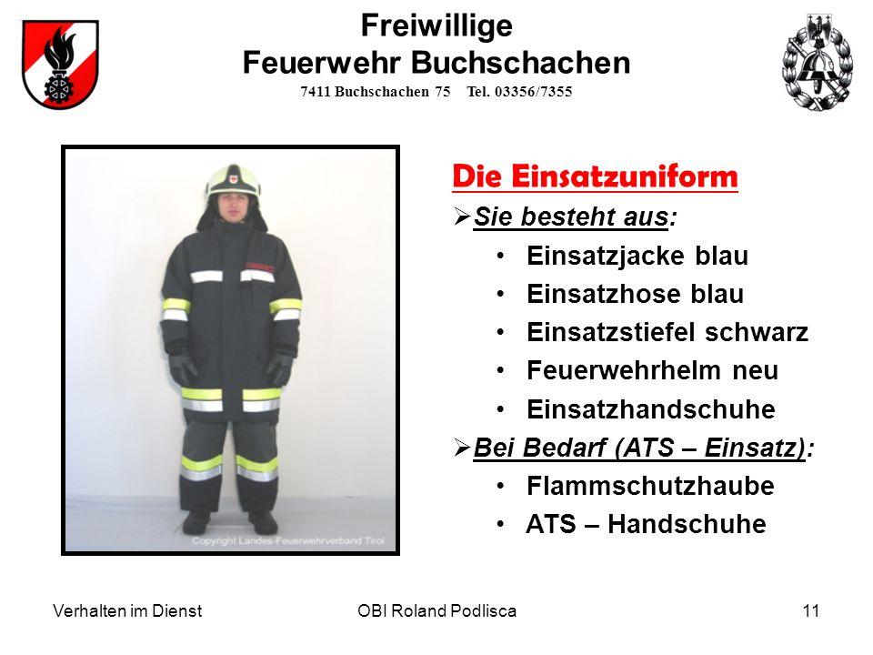 Feuerwehr Buchschachen