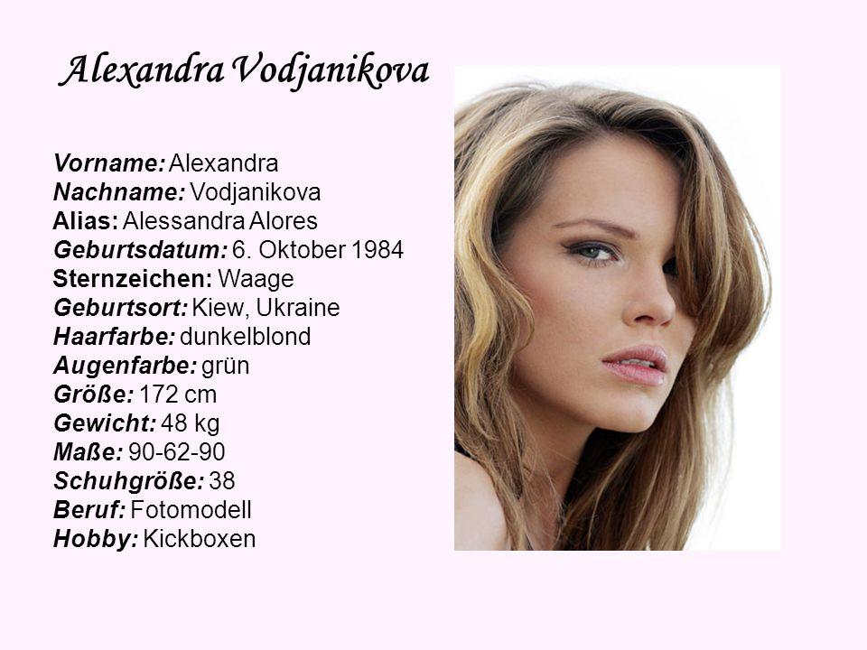Alexandra Vodjanikova