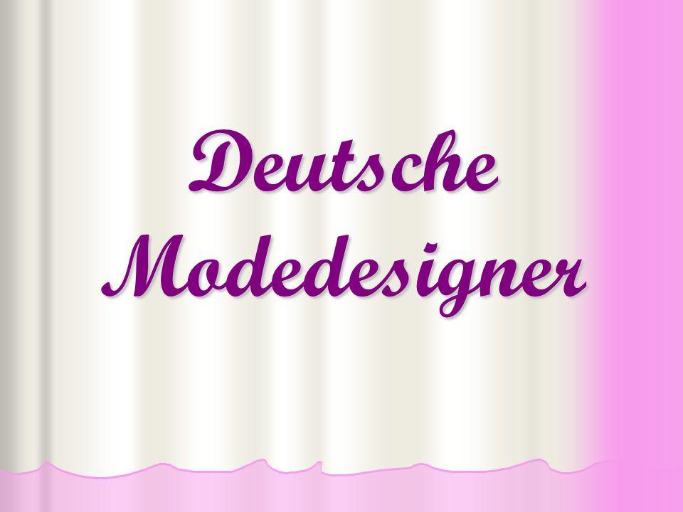 Deutsche Modedesigner