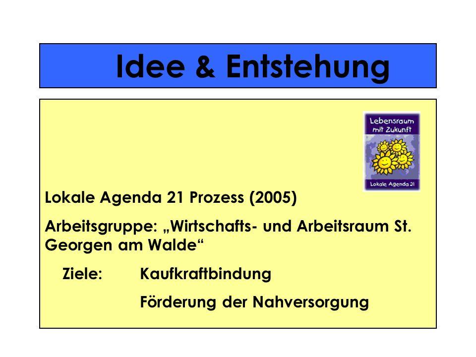 Idee & Entstehung Lokale Agenda 21 Prozess (2005)