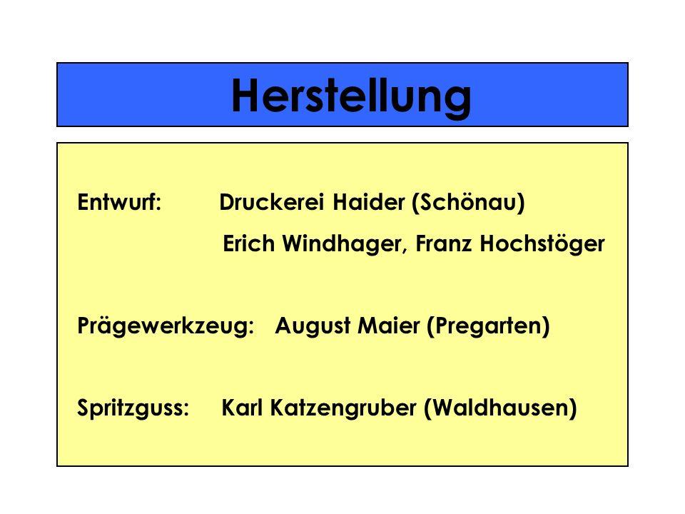Herstellung Entwurf: Druckerei Haider (Schönau)