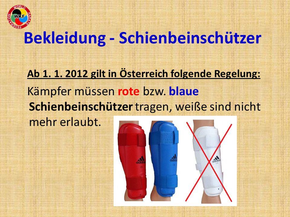 Bekleidung - Schienbeinschützer