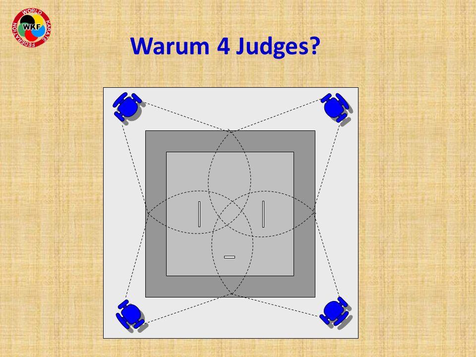 Warum 4 Judges