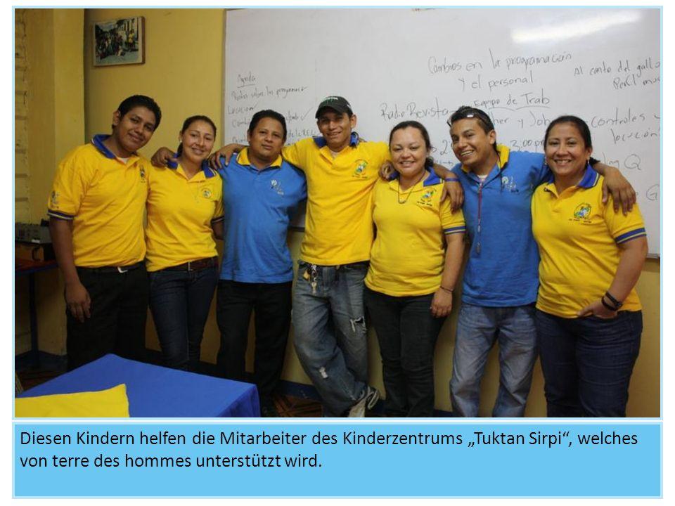 """Diesen Kindern helfen die Mitarbeiter des Kinderzentrums """"Tuktan Sirpi , welches von terre des hommes unterstützt wird."""