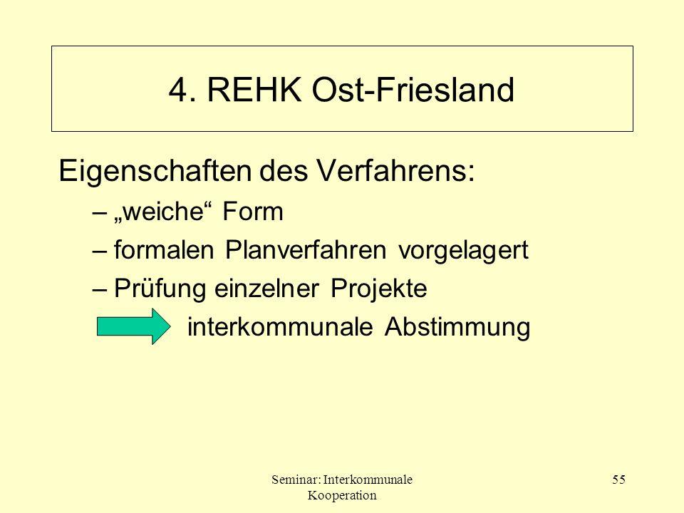 """4. REHK Ost-Friesland Eigenschaften des Verfahrens: """"weiche Form"""