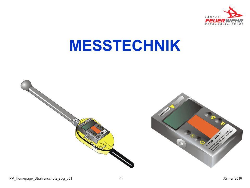 MESSTECHNIK PP_Homepage_Strahlenschutz_sbg_v01 Jänner 2010