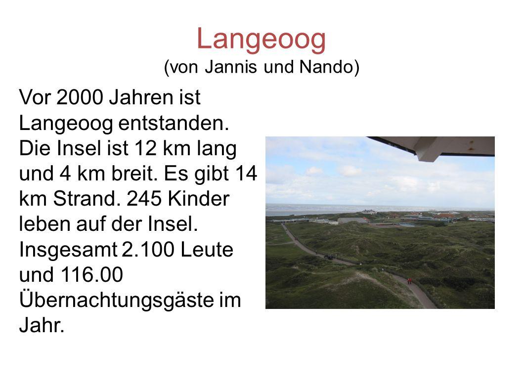 Langeoog (von Jannis und Nando)