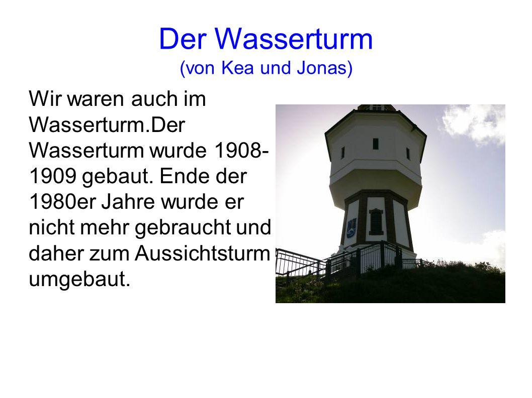 Der Wasserturm (von Kea und Jonas)