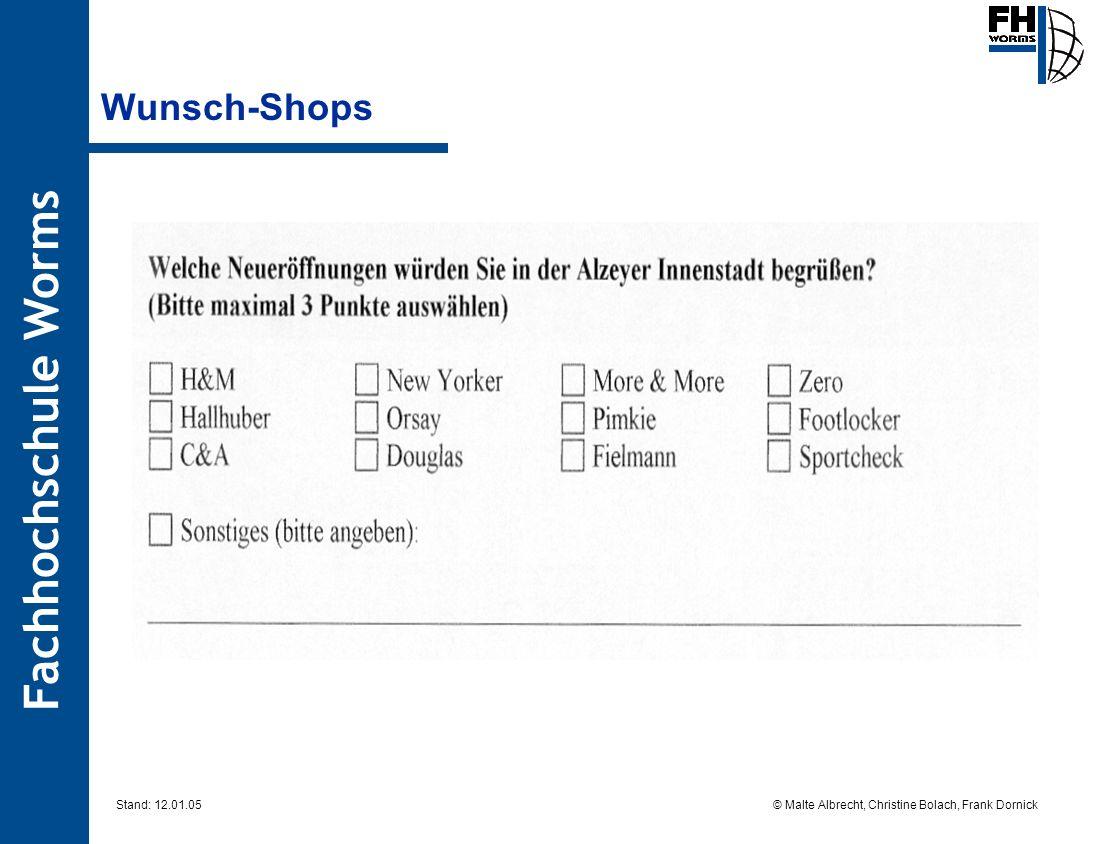 Wunsch-Shops