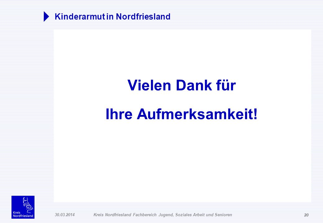 Kinderarmut in Nordfriesland