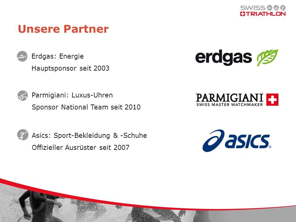 Unsere Partner Erdgas: Energie Hauptsponsor seit 2003