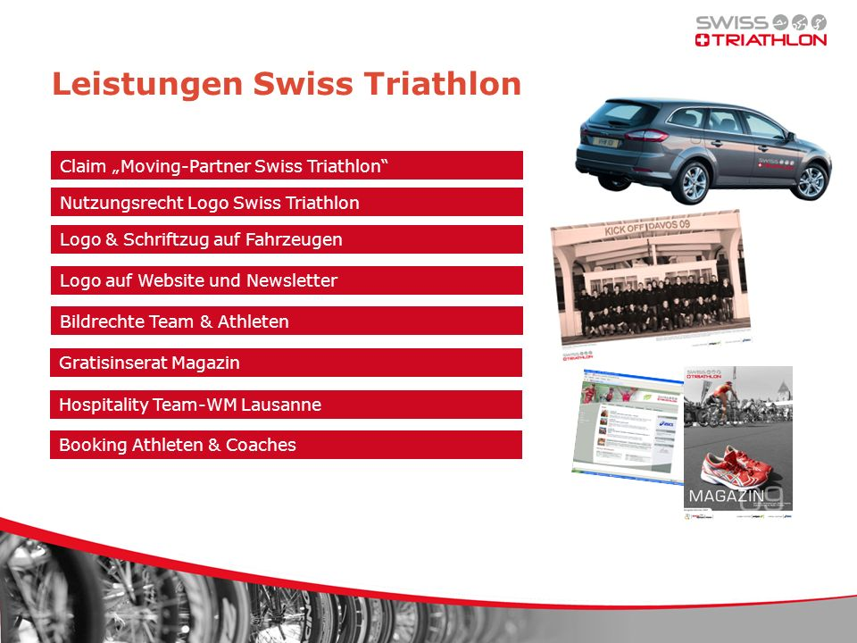 Leistungen Swiss Triathlon