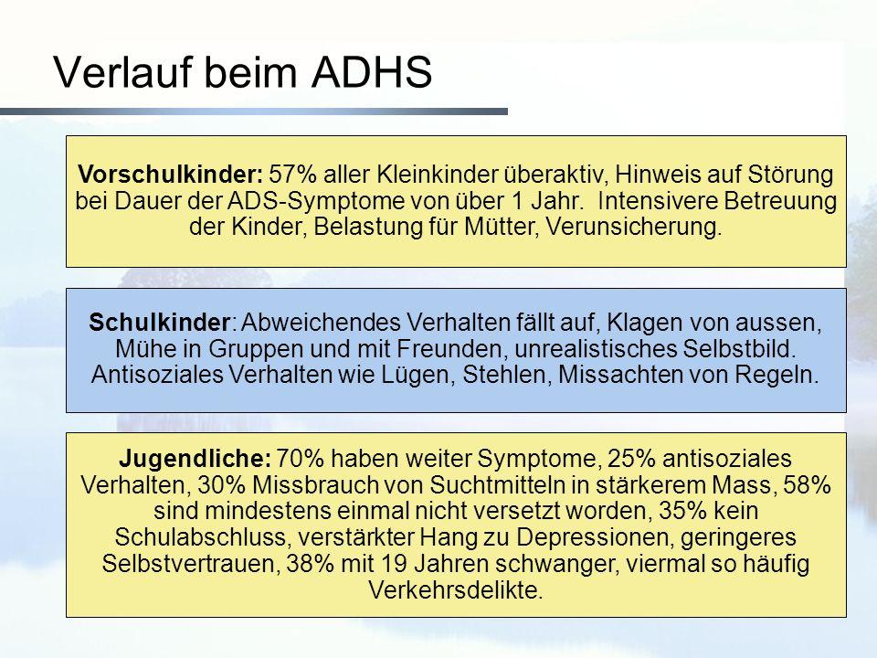 Verlauf beim ADHS