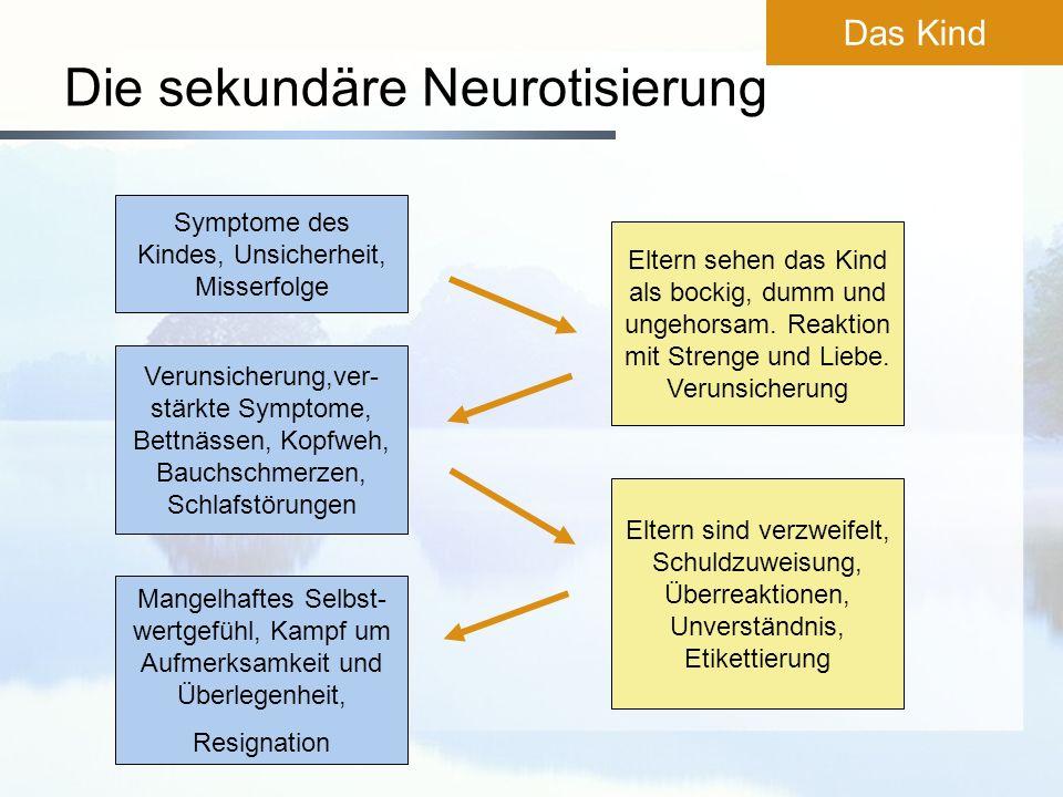 Die sekundäre Neurotisierung