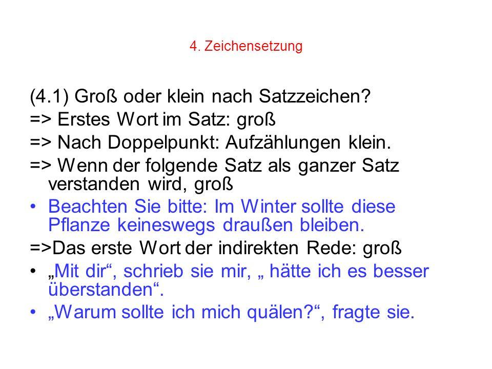 Briefe Nach Komma Groß : Neuregelung der deutschen rechtschreibung weiterbildung