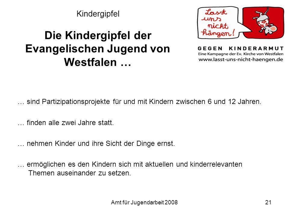 Kindergipfel Die Kindergipfel der Evangelischen Jugend von Westfalen …