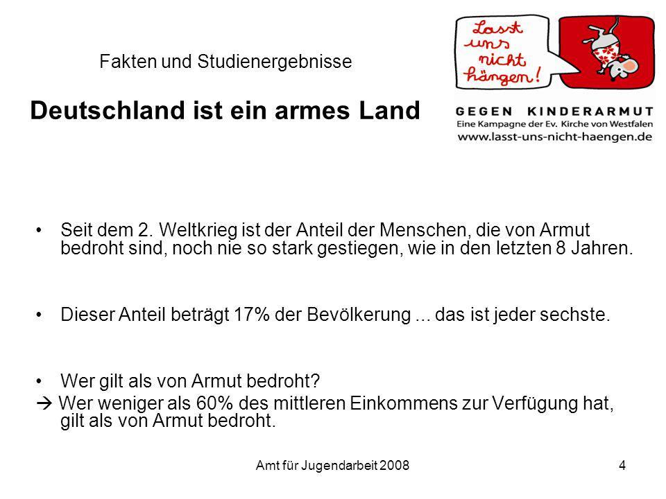 Fakten und Studienergebnisse Deutschland ist ein armes Land