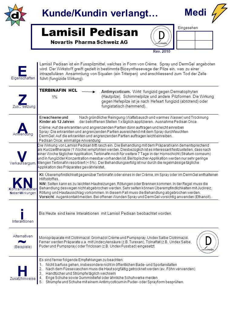 Lamisil Pedisan Novartis Pharma Schweiz AG