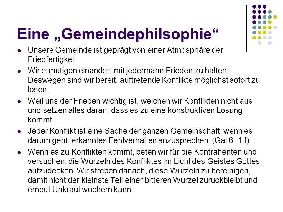 """Eine """"Gemeindephilsophie"""